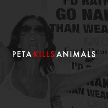 Image for PETA Kills Animals